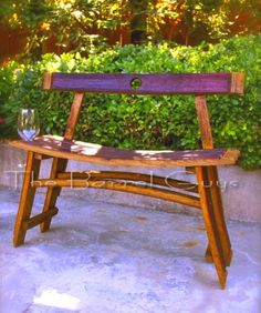 barrel wood projects | Picture 9 of 17 from Album wine barrel furniture