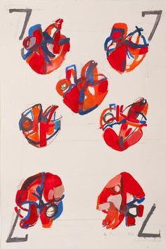 Alexandra Perri, ''Playing Cards 7'' on ArtStack #alexandra-perri #art