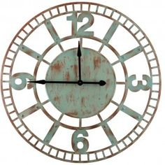 Or Browse The Full Range Of Large Wall Clocks Below, From to Over 1 Meter. Large Clock, Iron Wall, Decorating Your Home, Vintage Clocks, Wall Clocks, Home Decor, Decoration Home, Chiming Wall Clocks, Room Decor