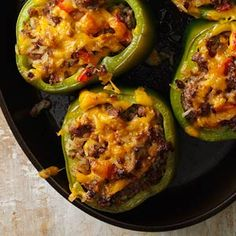 Stuffed Peppers Recipes from Taste of Home