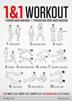 One & One Workout. This Is A Total Body HIIT Workout. It Works Your Aerobic & Cardiovascular Systems. Trains Your Arms, Legs, Glutes & Abs. Total body get it done! Fitness Workouts, At Home Workouts, Fitness Motivation, Daily Motivation, Workout Diet, House Workout, Hiit Workouts For Men, 100 Workout, Workout Routine For Men