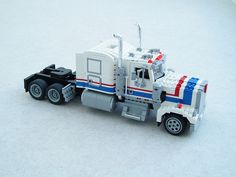 Kenworth W900, in the style of set 5580 (2)