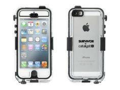 Griffin GB35562 Survivor Waterproof and Catalyst for iPhone 5 - Retail Packaging - Black on http://phone.kerdeal.com/griffin-gb35562-survivor-waterproof-and-catalyst-for-iphone-5-retail-packaging-black