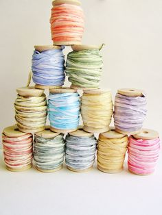 Paper string - I'll be needing the whole stack for my art room shelves. $4.49