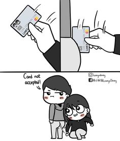 Swipee 😚 Tag your baby💞 . Cute Couple Comics, Couples Comics, Comics Love, Cute Couple Art, Funny Couples, Dont Touch My Phone Wallpapers, Hj Story, Cute Love Stories, Mixed Feelings Quotes