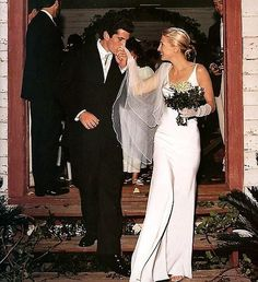 Honestly What I Think Of When My Wedding One All Time Favorite Dress Jfk Jr Carolyn Bessette Kennedy By Narciso