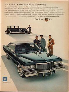 https://flic.kr/p/R8vqNm | 1975 Cadillac Advertisement Time Magazine February 10 1975 | 1975 Cadillac Advertisement Time Magazine February 10 1975