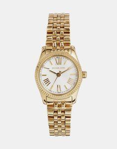 Image 1 ofMichael Kors Lexington Mini Gold Watch 26 mm MK3229