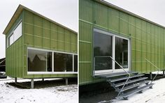 PREFAB FRIDAY: Straw Bale Meets Factory Built in Switzerland | Inhabitat - Sustainable Design Innovation, Eco Architecture, Green Building