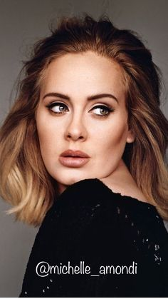 Adele Hairstyles Hairstyles For Round Faces Celebrity Hairstyles Adele Eyeliner Adele Makeup