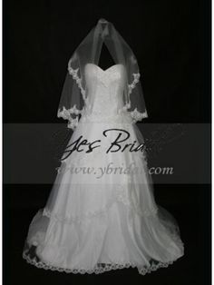 Ball Gown Sweetheart Chapel Train Tulle Wedding Dress WBG02193ML