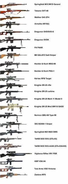 Precision rifles (sniper) - The Gun Military Weapons, Weapons Guns, Guns And Ammo, Revolver, Army Wallpaper, Fire Powers, Assault Rifle, Cool Guns, Panzer