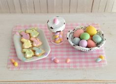 Miniature Easter Bunny Cookies A Shabby Chic by LittleThingsByAnna