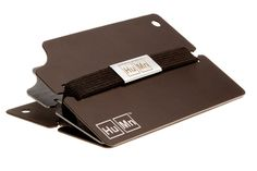 The HuMn Men's Mini Wallet's simple yet practical design can hold up to 6 cards while keeping a very slim profile. GetdatGadget.com