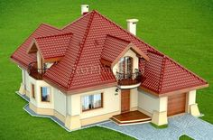 Two Story House Design, House Gate Design, Kerala House Design, Simple House Design, Bungalow House Design, Modern Bungalow, Sims House Plans, Family House Plans, Dream House Plans