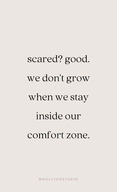 inspirational quotes motivational quotes motivation personal growth and development quotes to live by mindset molly ho studio Motivacional Quotes, Words Quotes, Wise Words, Best Quotes, Wisdom Quotes, Advice Quotes, Will Quotes, Success Quotes, Afraid Quotes