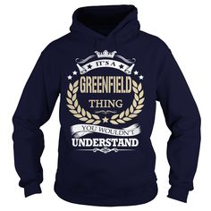 (Tshirt Nice Produce) Its a GREENFIELD Thing Order Online Hoodies, Tee Shirts