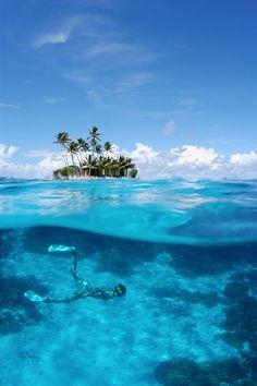トラック環礁のジープ島