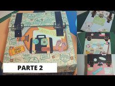 Tutorial Álbum Maleta - Parte 2 - YouTube