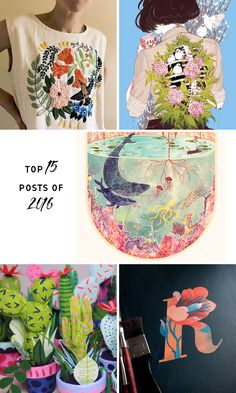 Most popular posts of 2016 on Brown Paper Bag
