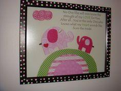 Baby girl nursery Kids room Print kids wall art by DesignByMaya, $17.00