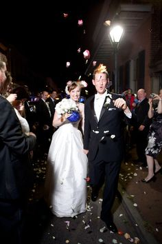 New Orleans Wedding in the Quarter!