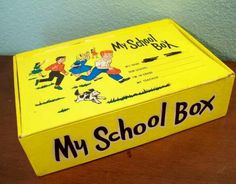 I so remember our school boxes...