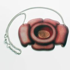 Corpse Flower Necklace Carnivorous Plant by TheSpangledMaker