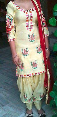 Designer Embroidery Bollywood Indian Punjabi Patiala SALWAR KAMEEZ latest suit