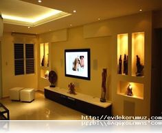 Niş Modelleri Salon Duvar