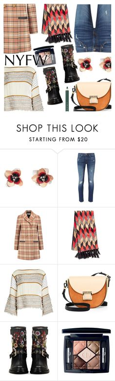 """Pack for NYFW"" by stacey-lynne ❤ liked on Polyvore featuring MANGO, rag & bone, Tory Burch, Vera Bradley, See by Chloé, Jason Wu, RED Valentino, Christian Dior and Chantecaille"