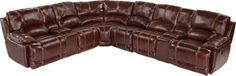 Cindy Crawford Home Van Buren Burgundy 8 Pc Leather Sectional .2999.99. 120.5W x 97.5D x 40H. Find affordable Sectional Living Rooms for your home that will complement the rest of your furniture.  #iSofa #roomstogo