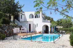 REF:-975VN 4 Bedroom Villa, Pool and Garage with SUPERB Sea views with 2.350m² garden plot -  #Villa for Sale in Estoi, Faro, Portugal - #Estoi, #Faro, #Portugal. More Properties on www.mondinion.com.
