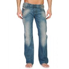 Diesel Zathan 0802E Bootcut Jeans on Sale at Designer Man | Diesel ...