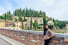 From Venice I hopped over to Verona to see an opera on ice featuring @andreabocelliofficial! The show was absolutely incredible.  Today I spent the day exploring Verona discovering the places that inspired Shakespeare's Romeo and Juliet love story and I also spotted the quintessential cypress trees of Tuscany!  : @jetsettera