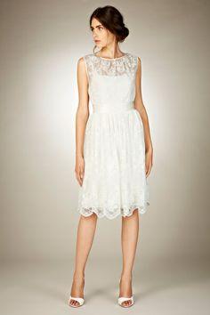 Jacinti Lace Dress by Coast. Available through the Wedding Heart website: http://www.weddingheart.co.uk/coast---wedding-dresses.html
