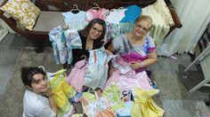 A ideia de Luiza é produzir vestidos e bermudas para crianças carentes (FOTO: Arquivo Pessoal)