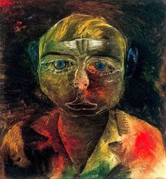 Paul Klee. Young Proletarian, 1916.