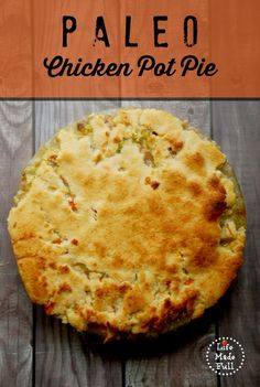 One of my favorite comfort foods, with the flakiest grain-free crust you've ever tasted!!!