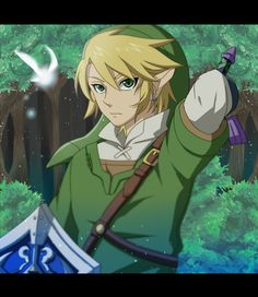 Yep. Link is an attractive video game character <3