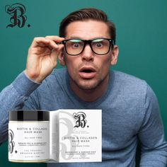 Want a thicker #hairline? Our new #biotin & #collagen #hairmask will increase the diameter of your #hairshaft giving you fuller, healthier hair. #avocado #vitamin Natural Hair Growth, Natural Hair Styles, Biotin Hair Growth, Hair Treatment Mask, Biotin Shampoo, Dry Damaged Hair, Oxidative Stress, Hair Repair, Avocado Oil