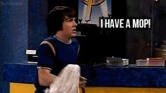 "Drake's badass weapon. | Community Post: 35 Memorable Lines From ""Drake And Josh"" Funny Animal Memes, Funny Quotes, Funny Memes, Memes Humor, Funny Gifs, Hilarious, Old Nickelodeon Shows, Dan Schneider, Josh Peck"