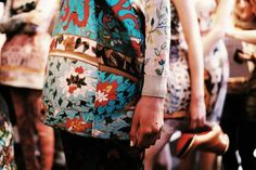 Up close with Mary Katrantzou AW15 floral prints http://www.londonfittingrooms.com/le-boudoir/fashion-weeks-aw15-highlights