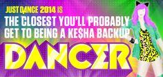 C'mon by Ke$ha is on Just Dance 2014!
