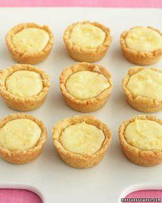 Mini Lemon Tassies Recipe