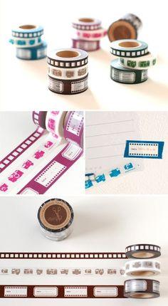 camera washi tape.... I need this!!!