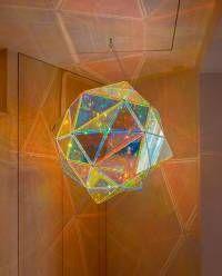 """Olafur Eliasson, """"Duo colour double polyhedron lamp,"""" 2011"""