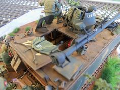 "Armorama :: ""Breakfast in the Boonies. Good Morning Vietnam, Armoured Personnel Carrier, Military Modelling, Military Diorama, Vietnam War, Southeast Asia, Scale Models, Military Vehicles, Trailers"