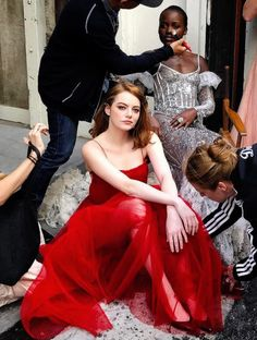 Emma Stone photographed by Kathryn MacLeod.