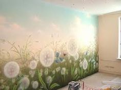 Картинки по запросу рисунки животных на стене в детской